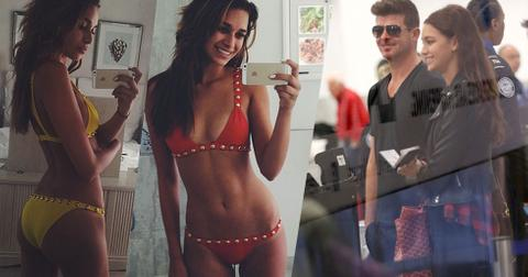 Robin thicke april love geary make out