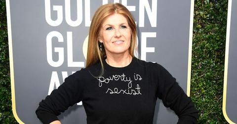 connie britton defends poverty sexist golden globes sweater pp