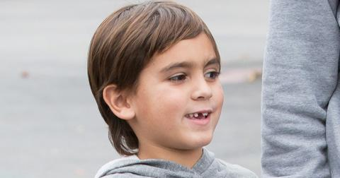*EXCLUSIVE* All Mason Disick wants for Christmas is his two front teeth… and dad!