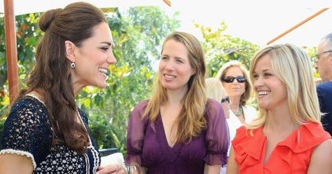 Reese Witherspoon Kate Middleton Friends Long