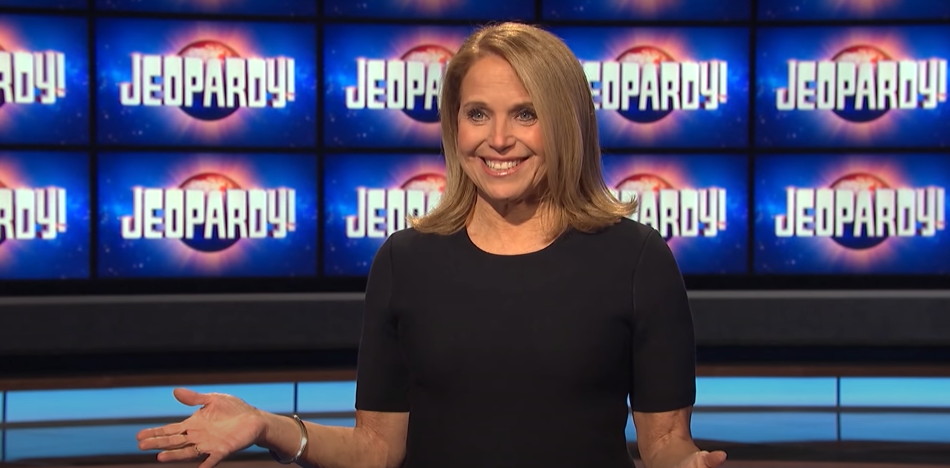 katie couric watching it religiously jeopardy guest host alex trebek