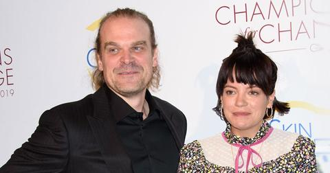 Lily Allen And David Harbour On The Red Carpet