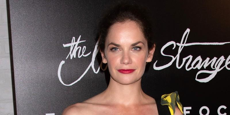 Ruth Wilson Wearing Red Lipstick