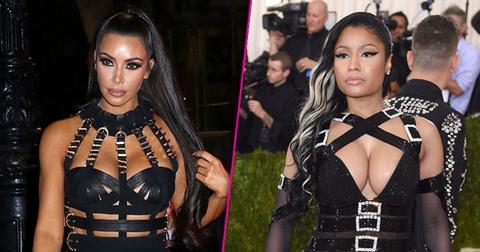 Met Gala Kim Kardashian Dress Nicki Minaj Pics PP