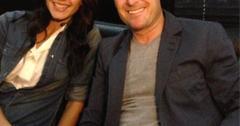 Chris Harrison and Desiree Hartsock