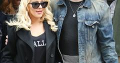 Christina Aguilera and fiance Matthew Rutler in New York City