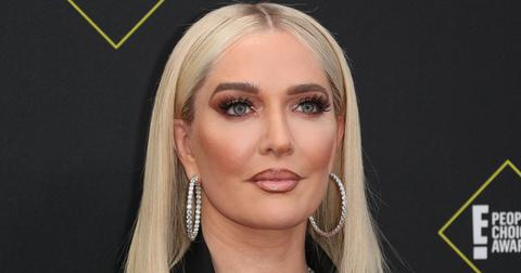 Erika Jayne at the 45th Annual Peoples Choice Awards in Los Angeles