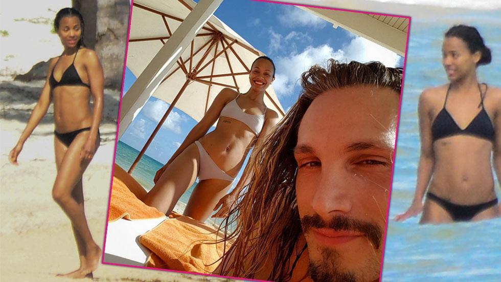 Zoe saldana bikini