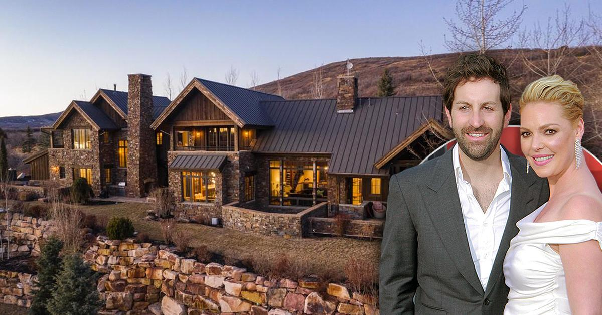 katherine heigl josh kelley home mountain retreat utah pf