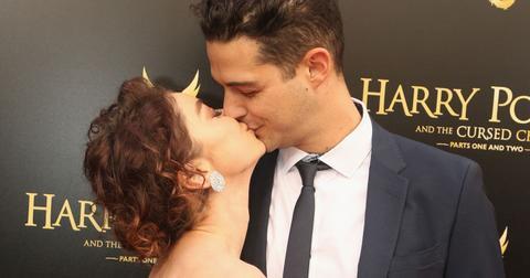 Sarah Hyland And Wells Adams Kiss Engaged