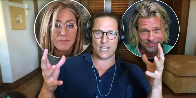 Matthew McConaughey On 'Sexual Tension' Between Brad Pitt And Jennifer Aniston