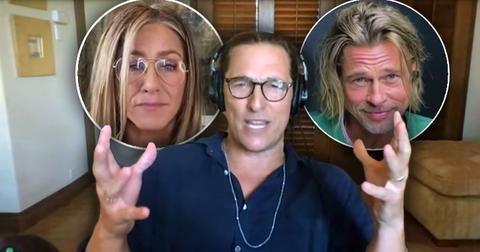 Matthew McConaughey On 'Sexual Tension' Between Brad Pitt And Jennifer Aniston