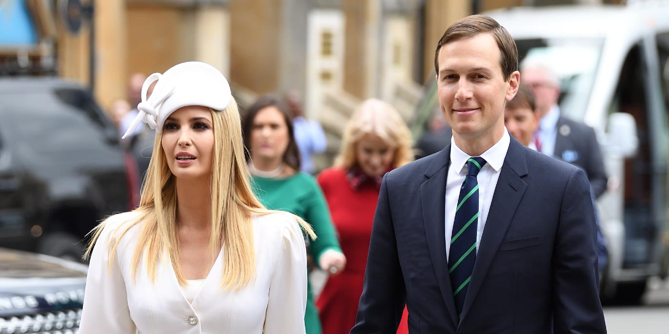 Ivanka Trump and Jared Kushner visit Westminster Abbey as part of the US State Visit in London, UK