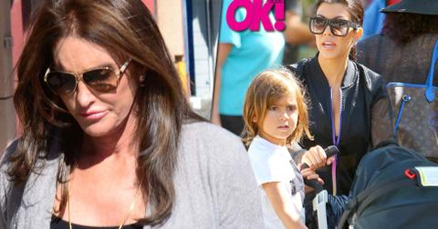 Kourtney kardashian refuses invite caitlyn jenner