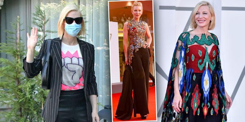 Cate Blanchett 2020 Venice Film Festival