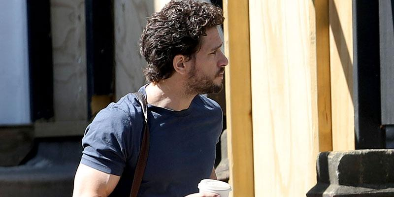 Kit Harington In London After Leaving Rehab