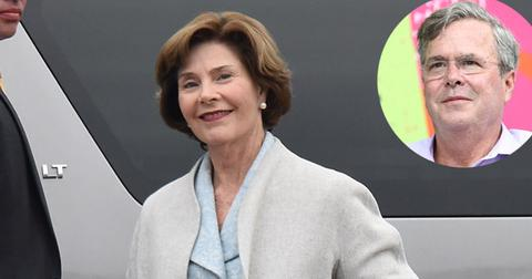 Laura bush reveals jeb not invited daughter barbara wedding pp