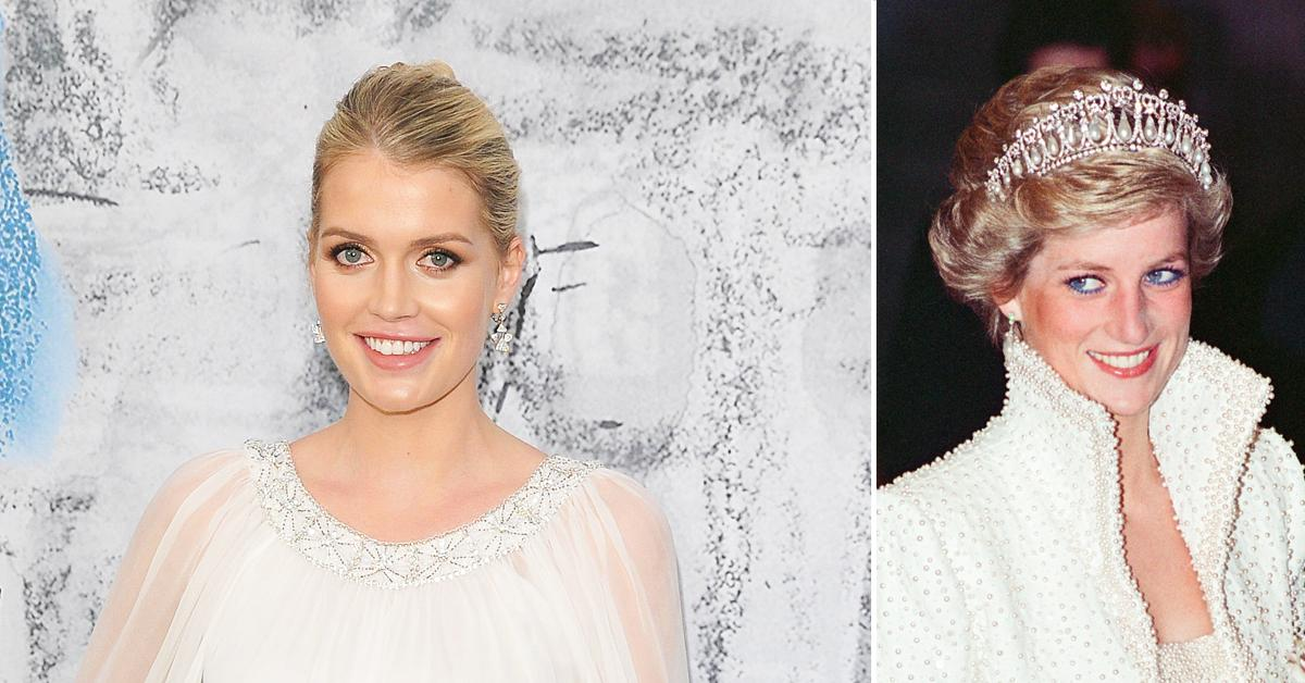 princess diana niece lady kitty spencer marries billionaire michael lewis
