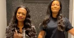 Kandi Burruss Daughter Riley Son Ace Dancing In Bathroom School Project Video
