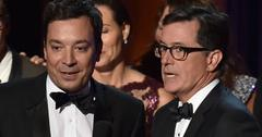 Jimmy fallon low ratings stephen colbert gaining viewers late night feud hr
