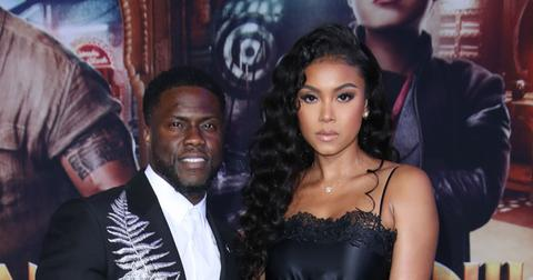 Kevin Hart And Eniko Parrish On Red Carpet