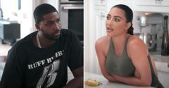 kuwtk kim kardashian advice tristan thompson khloe relationship trailer pf