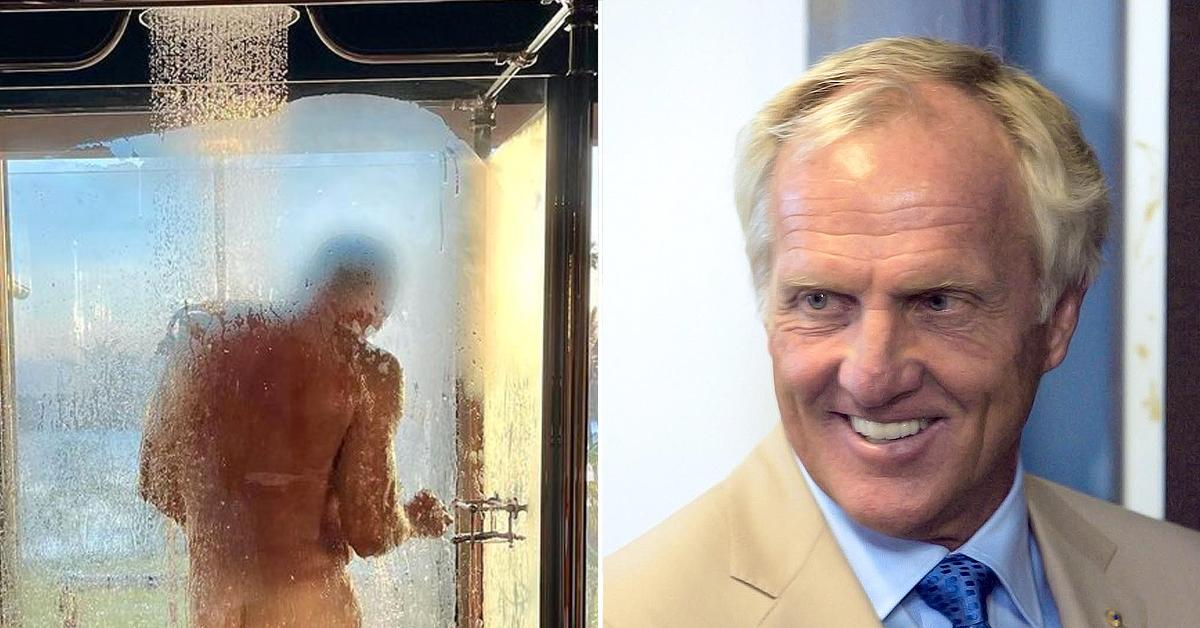 greg norman shares steamy photo on the gram