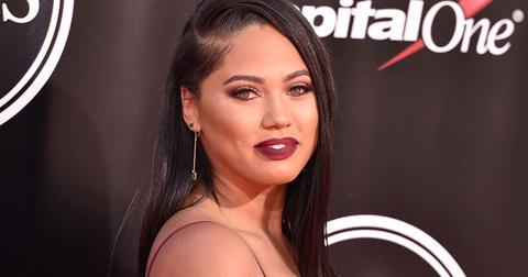 Ayesha Curry Red Lipstick Red Carpet Makeup-Free Selfie