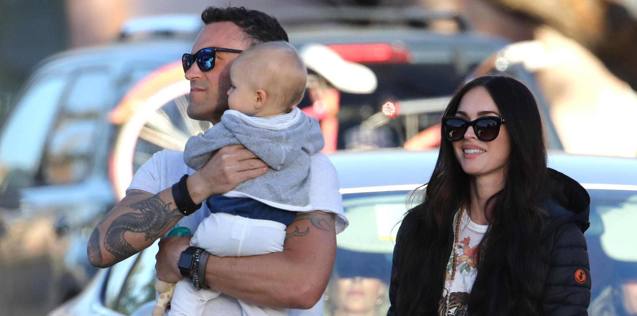 *EXCLUSIVE* Megan Fox enjoys her Mother Days with her husband Brian Austin Green