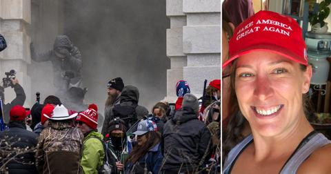 Horrifying Video Shows Moment Woman Was Shot By Cop As Trump Supporters Storm Capitol