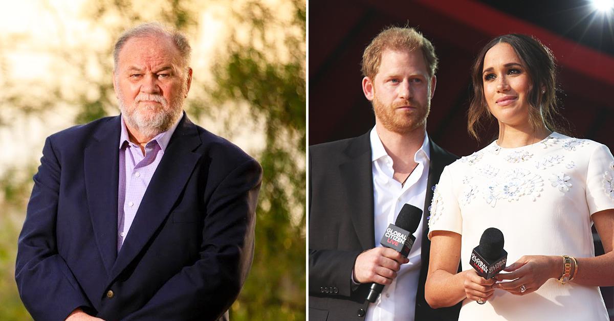 thomas markle claims sue meghan prince harry see grandchildren archie lilibet