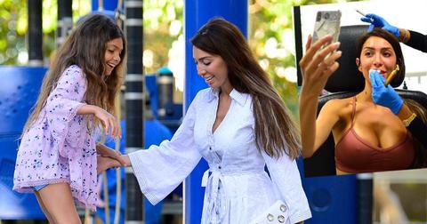 farrah abraham arrest gets botox plays with daughter sophia pp