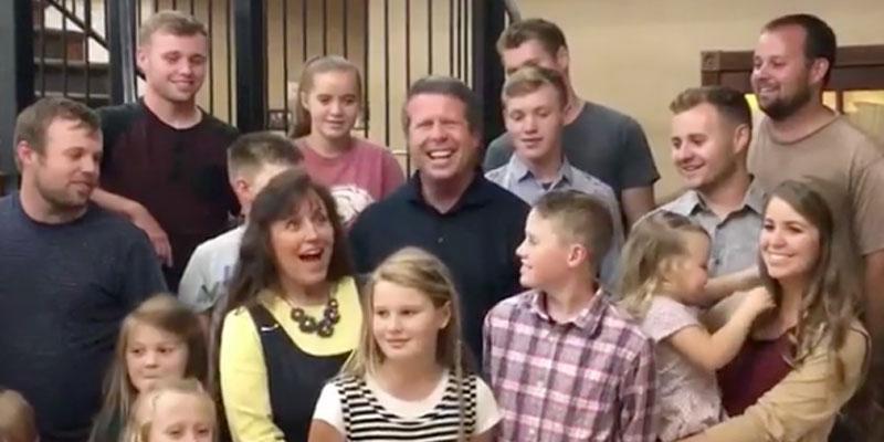 Josh duggar rare appearance mom michelle birthday video pp
