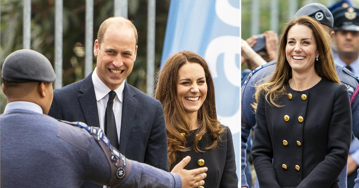 prince william and duchess kate visit east ham squadron raf air cadets ok