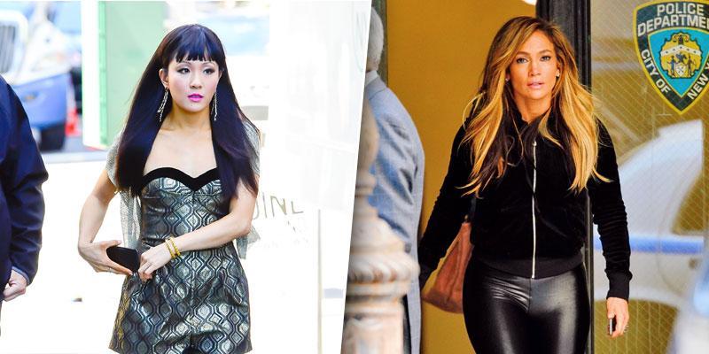 Jennifer Lopez & Constance Wu
