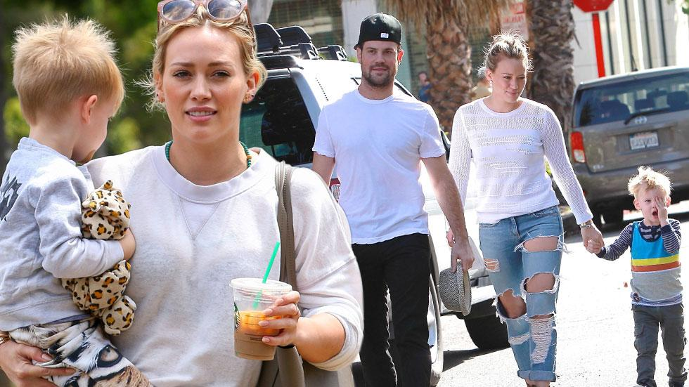 Hilary duff co parenting mik comrie going really good