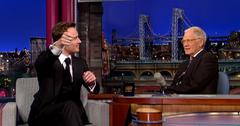 Michael Fassbender on Letterman