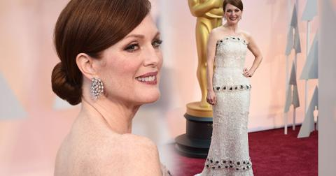 Julianne moore 2015 oscars arrivals