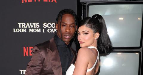 Kylie Jenner And Travis Scott On Red Carpet