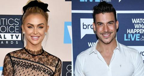 Lala Kent And Jax Taylor Pose On Red Carpets