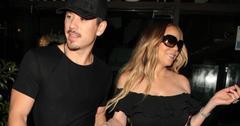 Mariah Carey see-through dress