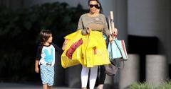 Kim Kardashian takes nephew Mason Disick shopping at the Lego store