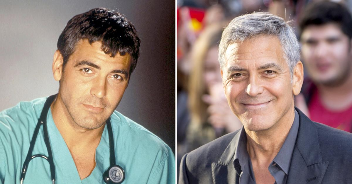 george clooney through the years