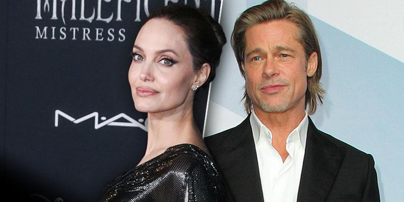 Angelina Jolie Hits Back At Brad Pitt's New GF By Taking Kids To Nobu