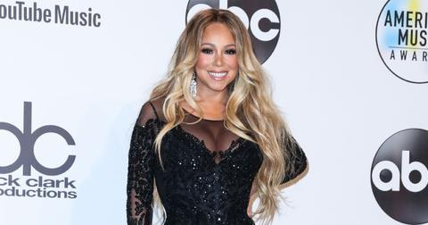 Mariah Carey at the 2018 American Music Awards
