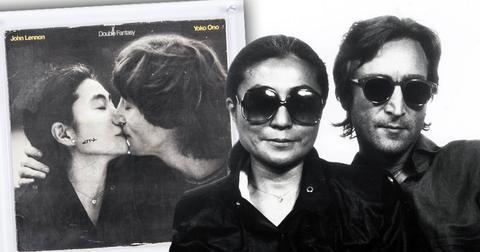Double Fantasy John Lennon Yoko Ono