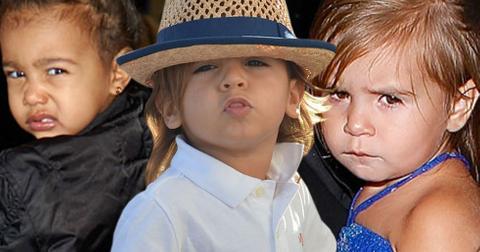 Kardashian kids pouts