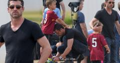 Patrick dempsey solemn watching son soccer game
