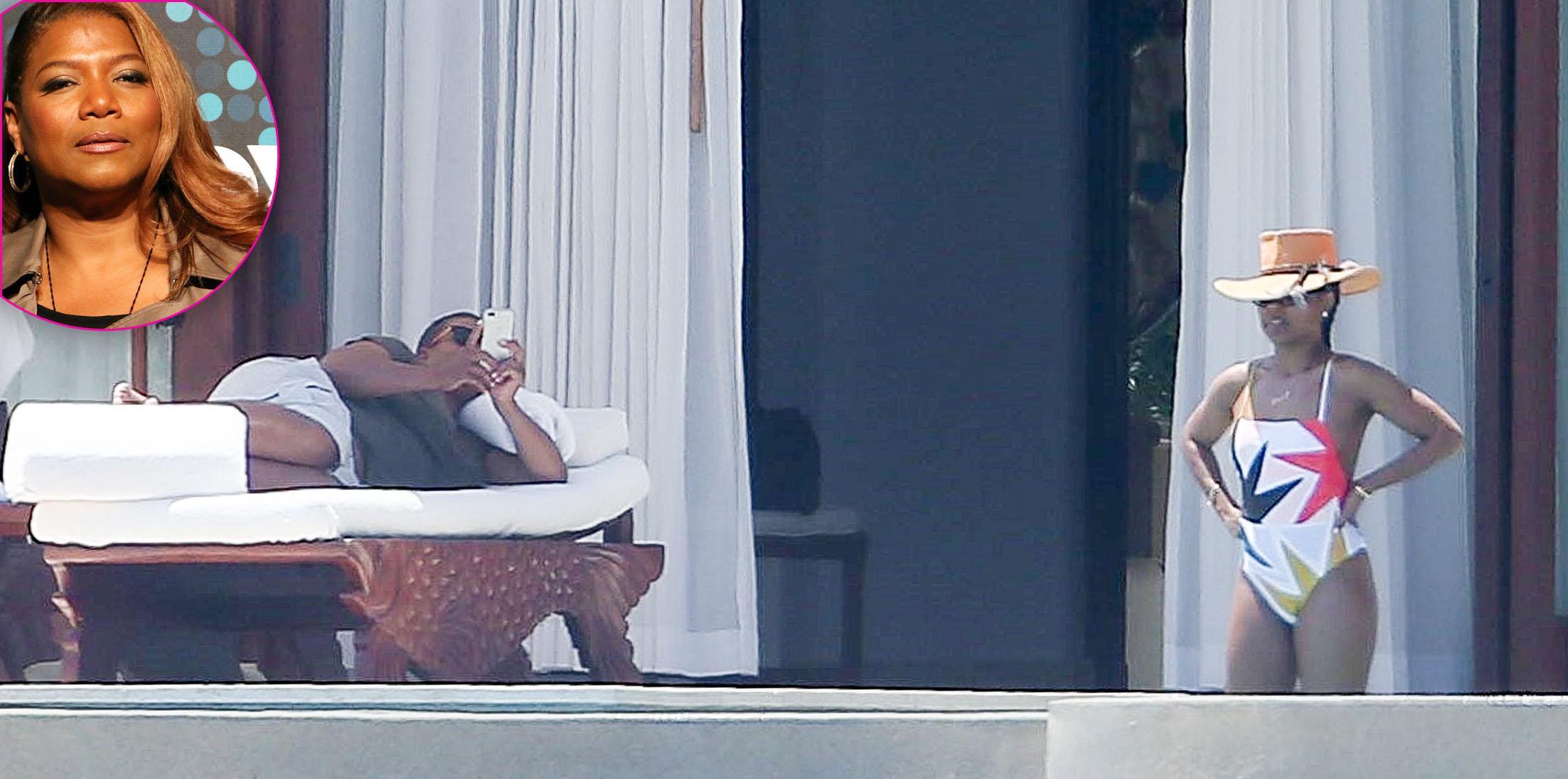 *EXCLUSIVE* Queen Latifah and Eboni Nichols soak up the Mexican sun!