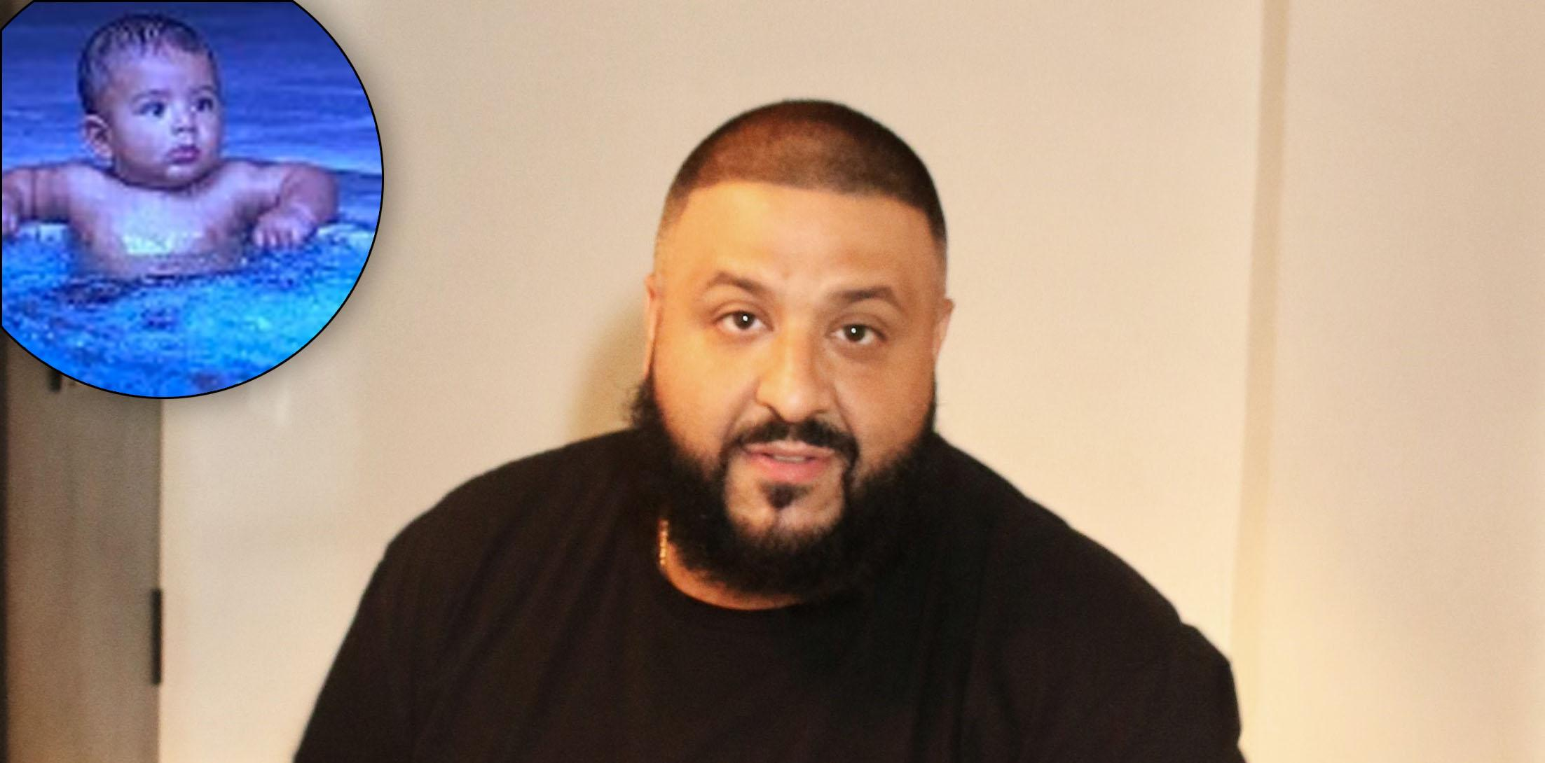 "DJ Khaled poses at his ""Grateful"" Album Listening Party"